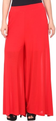 Arma Regular Fit Women's Red Trousers