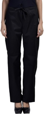 Vasstram Regular Fit Women's Black Trousers