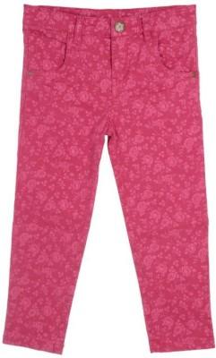 Joy N Fun Regular Fit Baby Girl's Pink Trousers