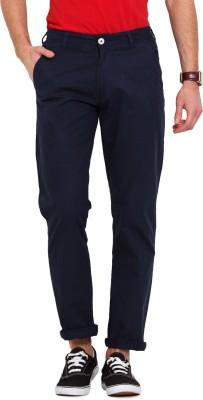 Ennoble Slim Fit Men's Dark Blue Trousers
