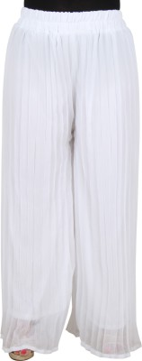 Bottoms More Regular Fit Women's White Trousers