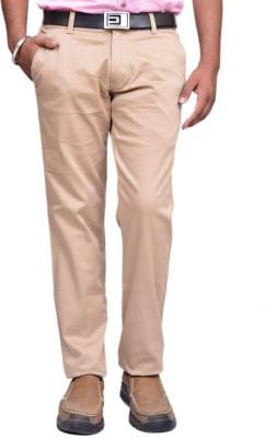 British Terminal Slim Fit Mens Beige Trousers