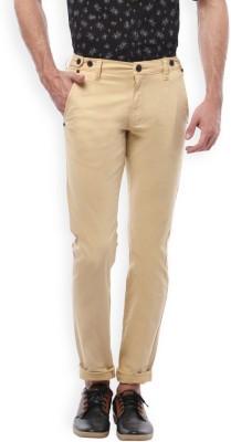 Bandit Slim Fit Men,s Beige Trousers