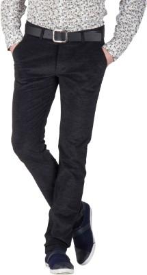 Mustin Regular Fit Men's Grey Trousers