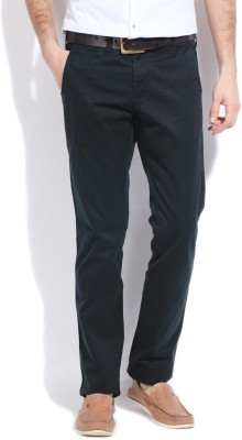 Gant Slim Fit Men's Dark Blue Trousers