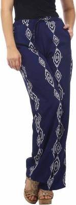 Stylistry Regular Fit Women's Dark Blue Trousers