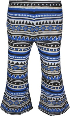 Jazzup Regular Fit Girl's Black, Blue Trousers