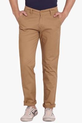 Babas wear Regular Fit Men's Beige Trousers
