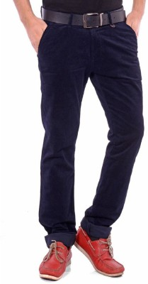 American Chinos Regular Fit Men's Blue Trousers