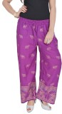 Soundarya Regular Fit Women's Purple Tro...