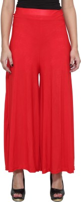 Both11 Regular Fit Women's Red Trousers