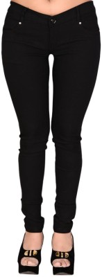 LGC Slim Fit Women's Black Trousers