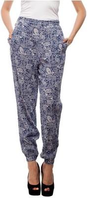 Orous Regular Fit Women's Multicolor Trousers