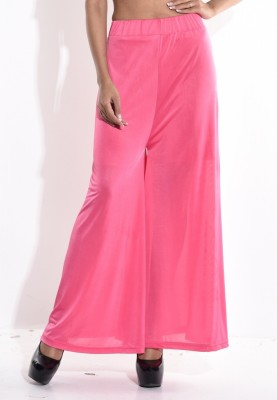 Sohniye Regular Fit Women's Pink Trousers