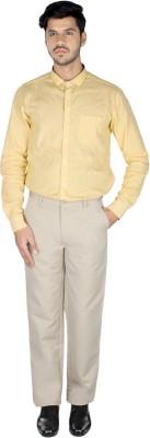 Pescis Regular Fit Men's White Trousers