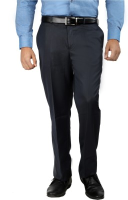 Oxemberg Regular Fit Men's Blue Trousers