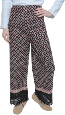 Free Living Regular Fit Women's Black, Maroon Trousers