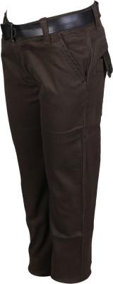 Crazeis Regular Fit Boy's Green Trousers