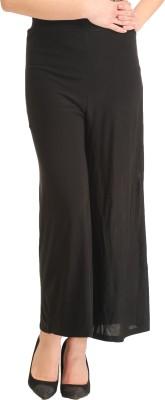Gudluk Regular Fit Women's Black Trousers