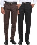 Ansh Fashion Wear Regular Fit Men's Beig...