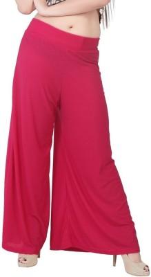 Fashionkala Regular Fit Women's Pink Trousers