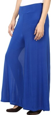 Fashion Arcade Regular Fit Women's Blue Trousers