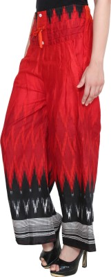 CJ15 Regular Fit Women's Red Trousers