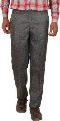 Larwa Fashion Regular Fit Men's Black Trousers