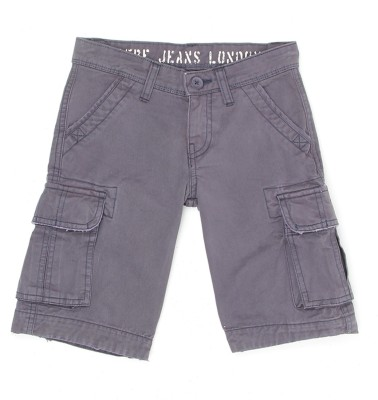 Pepe Jeans Regular Fit Boy's Grey Trousers