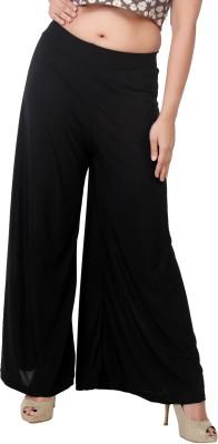 Bottoms More Regular Fit Women's Black Trousers
