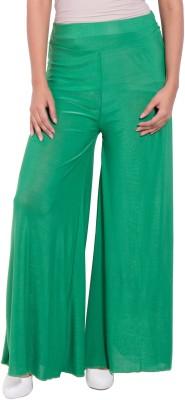 diva boutique Regular Fit Women's Green Trousers