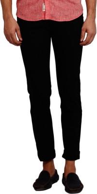 Volume Zero Slim Fit Men's Black Trousers