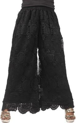 Taraz Regular Fit Women's Black Trousers