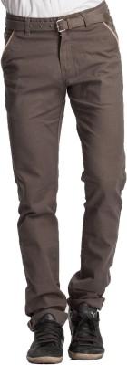 Beevee Regular Fit Men,s Green Trousers