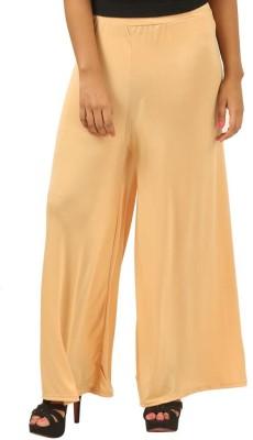 MDS Jeans Slim Fit Women's Beige Trousers