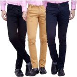 Nimegh Slim Fit Men's Multicolor Trouser...