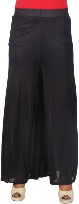SRS Regular Fit Women's Black Trousers