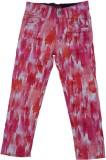 Kuddle Kid Regular Fit Girls Red Trouser...