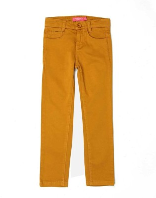 London Fog Regular Fit Girl's Beige Trousers