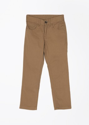 United Colors of Benetton Slim Fit Baby Boy's Beige Trousers