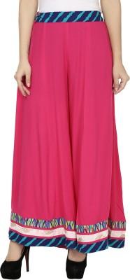Kaaviyaz Regular Fit Women's Pink, Blue Trousers