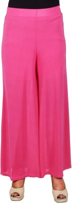 SRS Regular Fit Women's Pink Trousers
