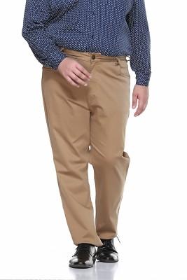 PlusS Regular Fit Men,s Beige Trousers