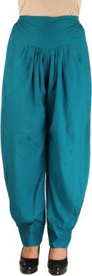 Ankita Regular Fit Women's Blue Trousers