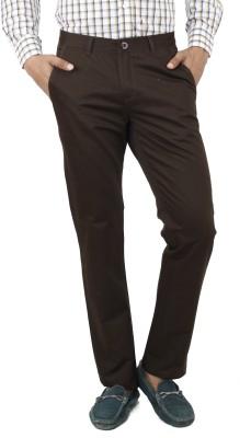 Uber Urban Regular Fit Men's Green Trousers