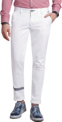 Specimen Slim Fit Men's White Trousers