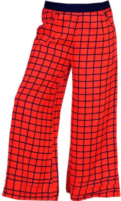 Naughty Ninos Regular Fit Girls Red Trousers