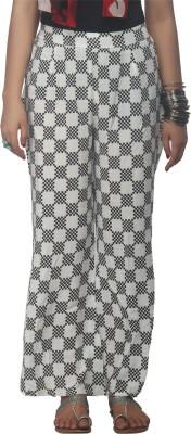 Dhavani Regular Fit Women's Dark Blue Trousers