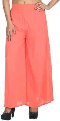Awesome Regular Fit Women's Pink Trousers