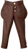 Lil Poppets Regular Fit Boys Linen Brown...